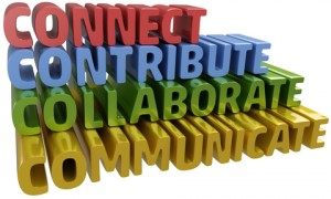 Connect, Contribute, Collaborate, Communicate
